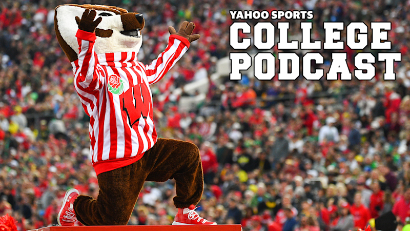 Here at the Yahoo Sports College Podcast, we are jealous of Bucky and his fellow Badger fans' ability to hit the bars while the rest of us are still in lockdown. What will be your first drink order when you finally go back?