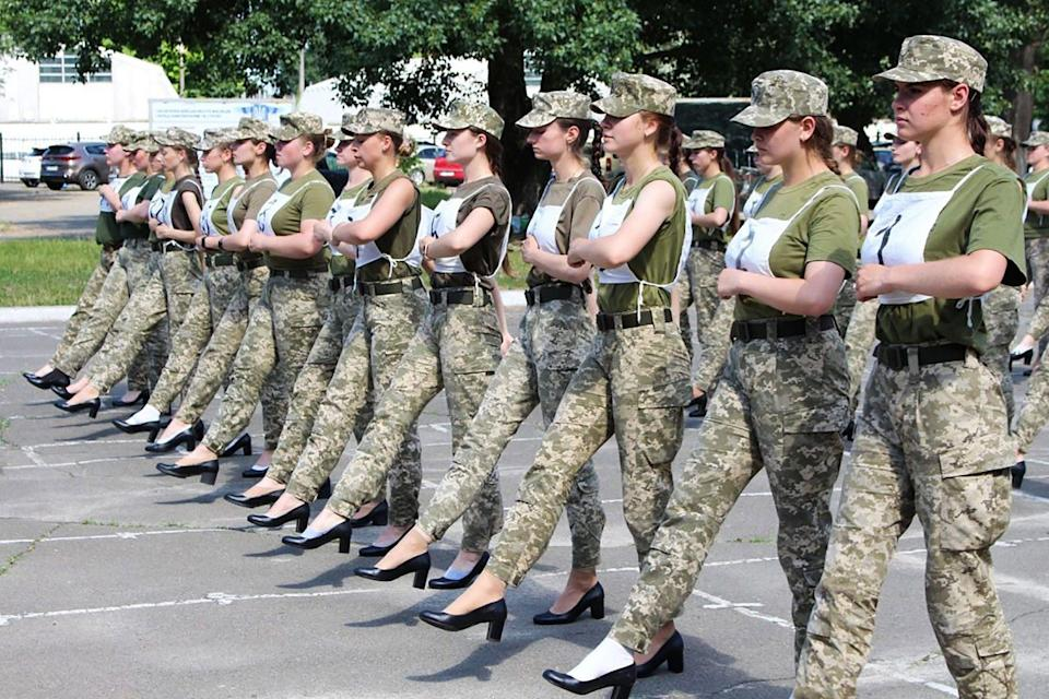 The photographs have been met with outrage (Ukrainian Defence Ministry)