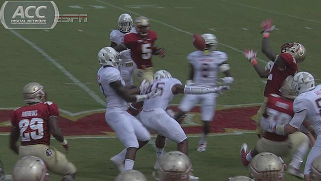 Florida State almost recovered its own kickoff against Maryland (Video)