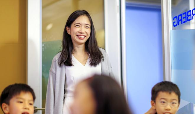 Michelle Sun, founder and chief executive of First Code Academy, believes coding is a core skill for the next generation. Photo: Handout