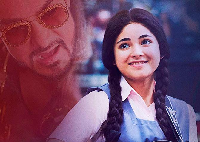 Zaira Wasim en el cartel de Secret Superstar (2017)