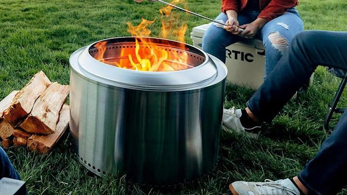 Your family's backyard hangs are about to get a whole lot cozier thanks to Solo Stove.