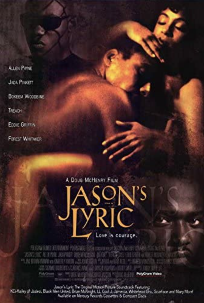 """<p>A young man (Allen Payne) is stuck in a crime-filled neighborhood in Houston, dreaming of a way out. Struggling to keep his brother on the right track, he becomes hopeful for the future when he meets and falls in love with Lyric (Jada Pinkett) in this classic flick.</p><p><a class=""""link rapid-noclick-resp"""" href=""""https://www.amazon.com/Jasons-Lyric-Allen-Payne/dp/B07V3NKBSR?tag=syn-yahoo-20&ascsubtag=%5Bartid%7C10063.g.35083114%5Bsrc%7Cyahoo-us"""" rel=""""nofollow noopener"""" target=""""_blank"""" data-ylk=""""slk:STREAM IT HERE"""">STREAM IT HERE</a></p>"""