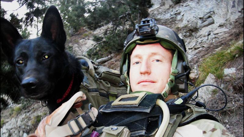 A still from 'War Dog: A Soldier's Best Friend.'