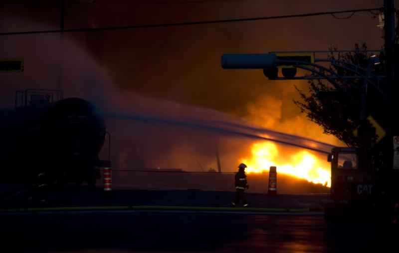 Quebec police: 5 dead in oil train derailment