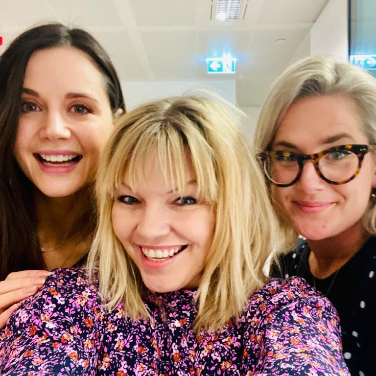 Heart Radio DJs Lilah Parsons and Anna Whitehouse appear on the latest episode of White Wine Question Time