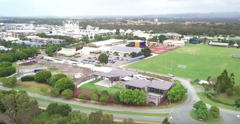 The school is located on the Gold Coast in Queensland. Source: Supplied