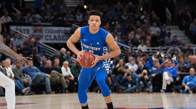 NBA draft prospect Kevin Knox was asked one of the more interesting questions at the NBA Combine, when a team asked him if he had a child.