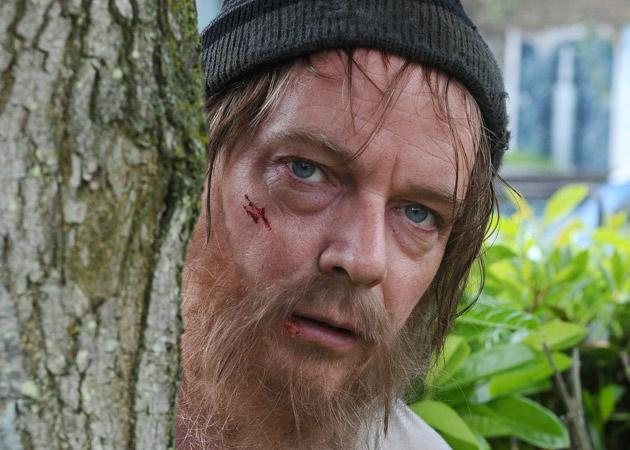 Arrival – Adam Woodyatt - EastEnders<br><br> <b>Who's he playing? </b> Ian Beale of course. And he's hardly been away. But it is an excuse to use this picture of him as a tramp again, so we're going to take it. <br><br> <b>Should we be excited? </b> Look at the picture.