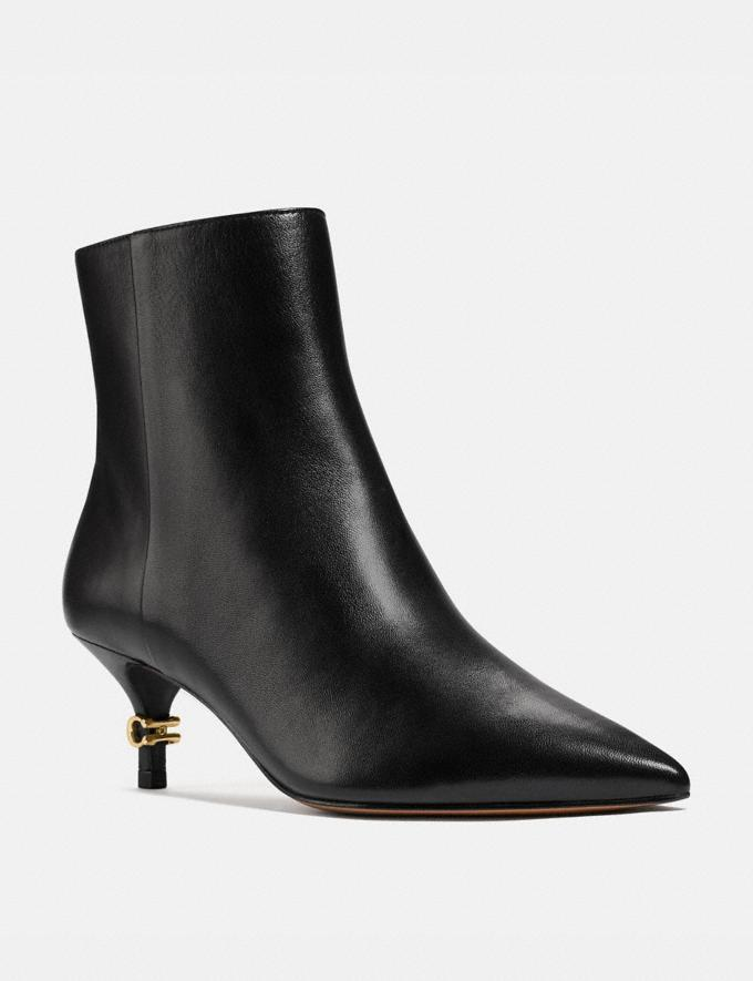The Jewel Bootie - on sale for Black Friday at Coach, $140 (originally $200).
