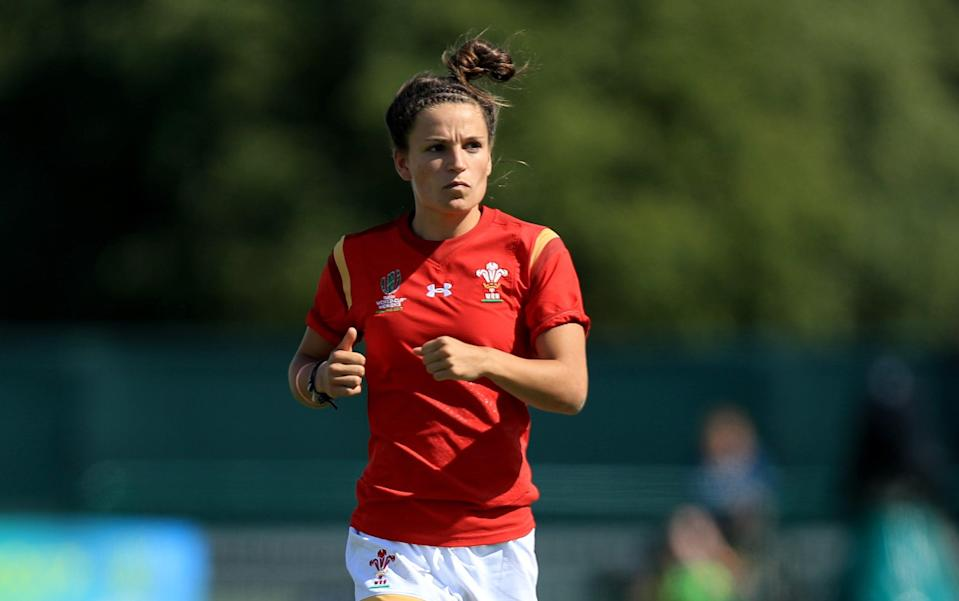Jasmine Joyce, pictured playing for Wales, was part of the Team GB side beaten by New Zealand (Donall Farmer/PA) (PA Archive)