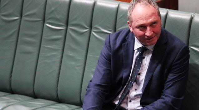 Deputy Prime Minister Barnaby Joyce also effectively abstained from the vote. Photo: AAP