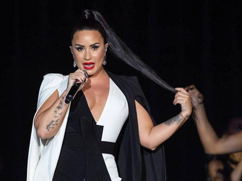 Demi Lovato hits back after fiance's 'fake' tweets about her and Selena Gomez go viral