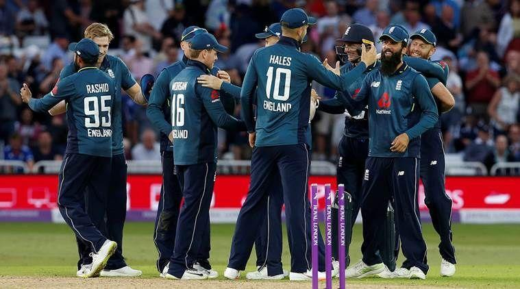 England registered the highest team total in ODIs against Australia in 2018