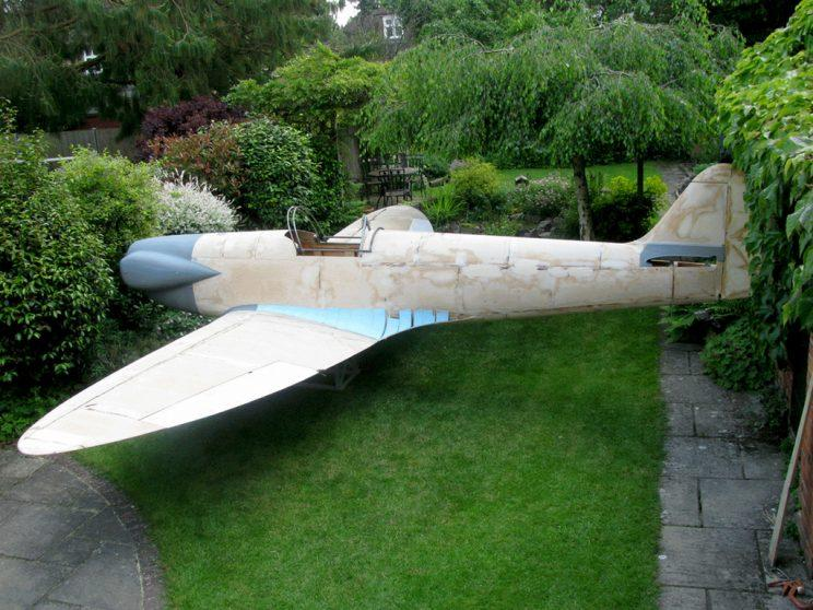 The Spitfire is a 60% scale replica (Picture: SWNS)