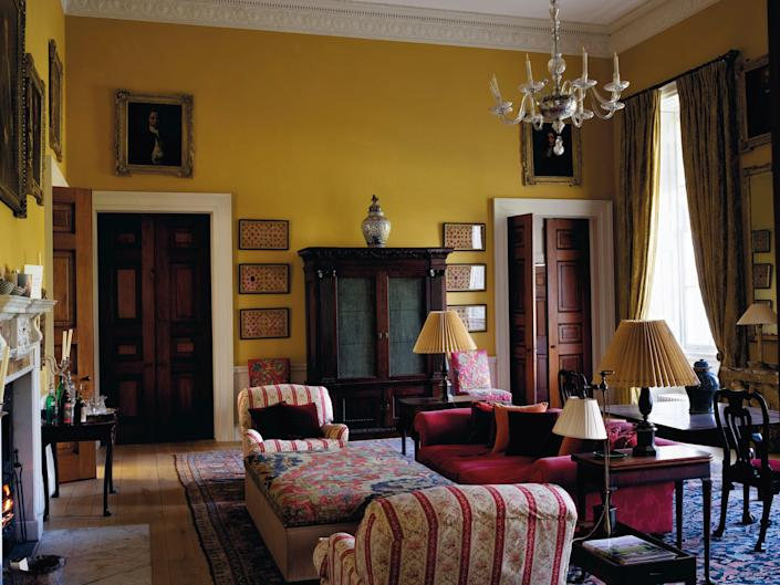 The Yellow Sitting Room.