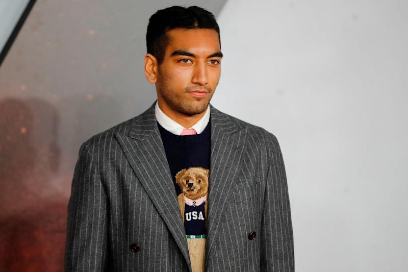 Fox had criticised the casting of Nabhaan Rizwan in 1917 (AFP via Getty Images)
