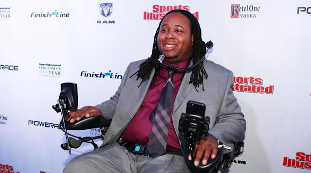 Eric LeGrand talks WWE wrestling and resiliency