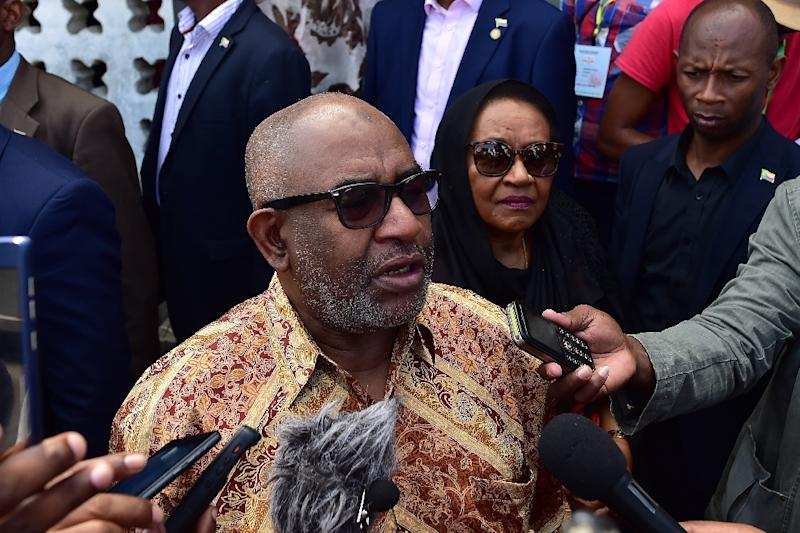 Assoumani had pledged to step down if he lost the vote (AFP Photo/TONY KARUMBA)