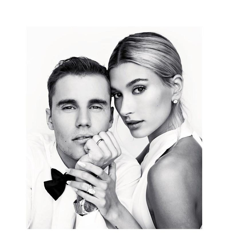 Justin and Hailey Bieber open up about their quick trip to the altar in new docu-series. (Photo: Instagram)