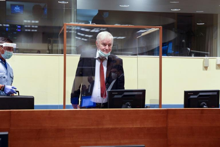 Bosnian Serb general Mladic should be cleared of genocide, lawyers say