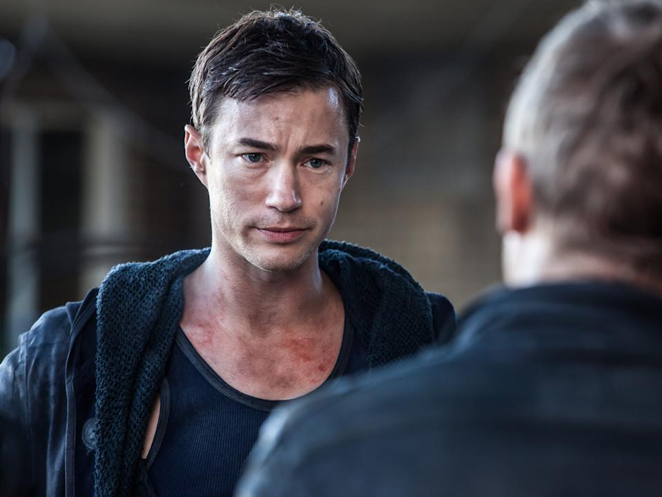 "Wisdom acting in ""Dominion."" <p class=""copyright"">Ilze Kitshoff/Syfy/NBCU Photo Bank/NBCUniversal via Getty Images</p>"
