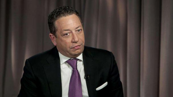"PHOTO: Felix Sater, a Soviet-born American businessman who once billed himself as a ""senior adviser to Donald Trump,"" speaks to ABC News (ABC News)"