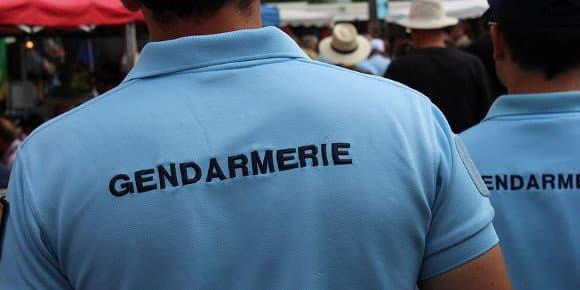 Des gendarmes (photo d'illustration). - -