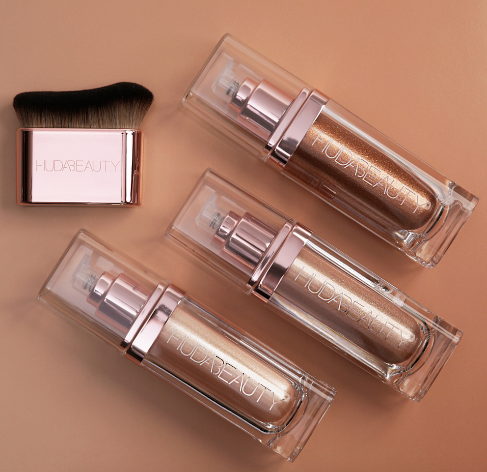 """<p>This all-over body highlighter is the definition of blinding. Apply it to the points you want it to emphasize, allowing the sun and/or lightning to reflect off of it. Available in three shades: Luna (a white-gold shimmer with hints of rose gold and silver), Aphrodite (a golden-bronze shimmer for a true golden finish), and Aurora (a warm, coppery shimmer with rich golden pearls). Extreme glow on all bodies, for all skin tones.</p> <p>PS: if you are wondering what N.Y.M.PH stands for it's Not Your Mama's Panty Hose, which simply means this body shimmer is so good, you'll skip pantyhose</p> <p><strong>$49</strong> (<a href=""""https://shop-links.co/1681366376965977401"""" rel=""""nofollow"""">Shop Now</a>)</p>"""