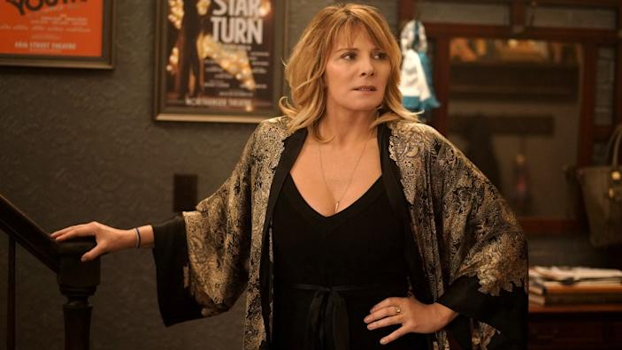 """Kim Cattrall in """"Tell Me a Story"""" on The CW."""