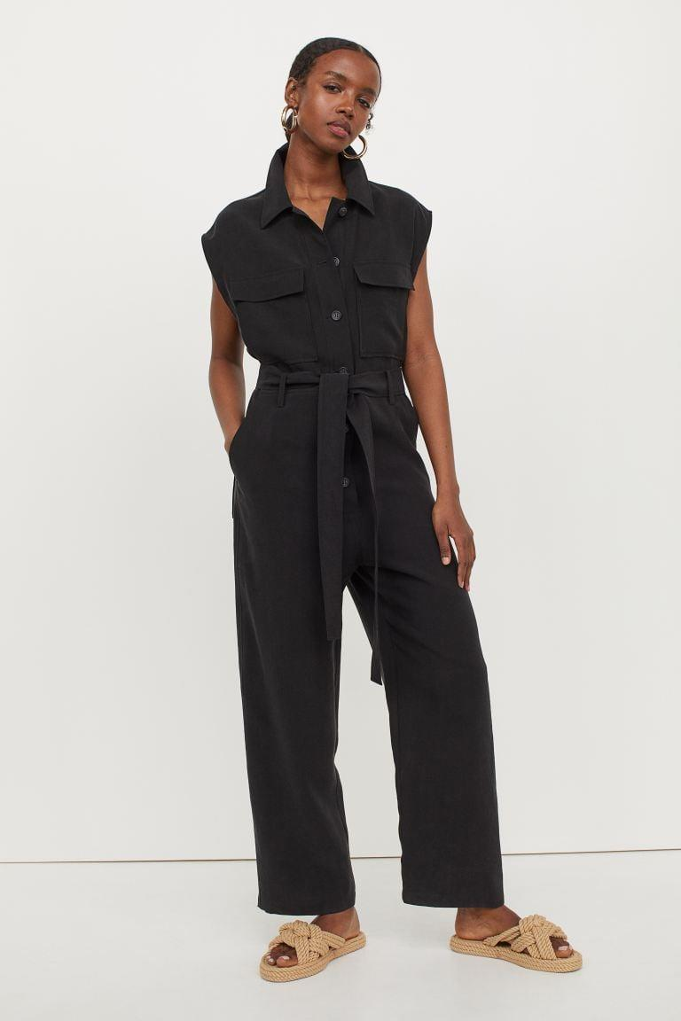 <p>Stay cool in this <span>H&amp;M Lyocell-blend Jumpsuit</span> ($70).</p>