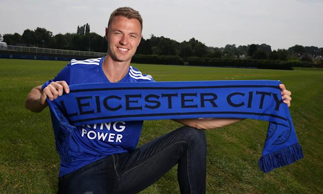 "Jonny Evans was described as a ""a winner and a leader"" by Leicester manager Claude Puel after signing from relegated West Brom."