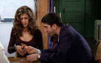 """<p>(I mean, duh, but it needs to be said!) In the very first episode of <em><a href=""""https://www.cosmopolitan.com/entertainment/tv/g33994173/friends-cast-roles-since-show-ended/"""" rel=""""nofollow noopener"""" target=""""_blank"""" data-ylk=""""slk:Friends"""" class=""""link rapid-noclick-resp"""">Friends</a></em>, Rachel—who is, well, spoiled—buys a fancy pair of boots with her dad's credit card to console herself after a rough day of job interviews. Knowing that she wants to become more independent, her friends encourage her to cut up her credit cards so that she won't live beyond her means and lean on her parents. Yeah, it's a bit dramatic, but it does force Rachel into the """"real world.""""</p>"""