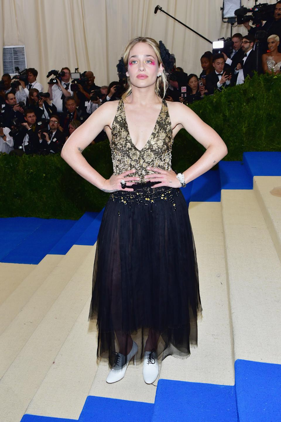 """<h1 class=""""title"""">Jemima Kirke in Chanel</h1><cite class=""""credit"""">Photo: Getty Images</cite>"""
