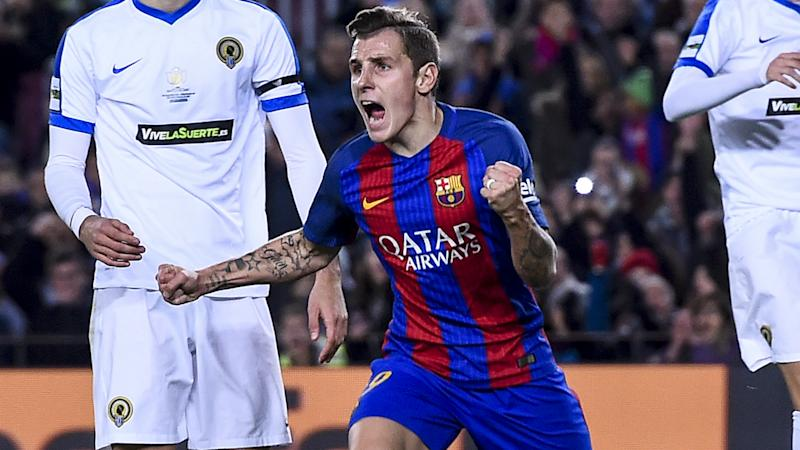 Real Madrid aren't LaLiga favourites, insists Barca's Digne