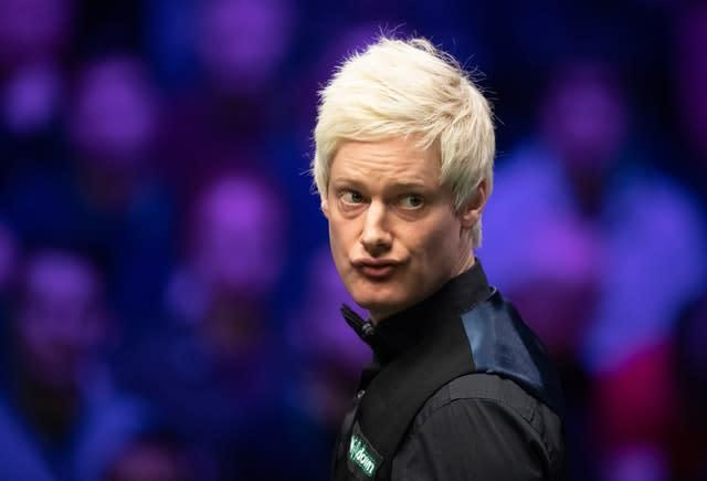 Neil Robertson reached the last 16 of the Betway UK Championship (Dave Howarth/PA)