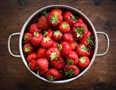 """<p>Strawberries offer a slew of benefits to kids, one being that it contains natural vitamin C. This vitamin plays a role in producing norepinephrine, a neurotransmitter that <a href=""""https://www.hormone.org/your-health-and-hormones/glands-and-hormones-a-to-z/hormones/norepinephrine"""" class=""""link rapid-noclick-resp"""" rel=""""nofollow noopener"""" target=""""_blank"""" data-ylk=""""slk:plays a role in increasing attention"""">plays a role in increasing attention</a>. Your little one doesn't care for strawberries? No sweat! Kiwi, citrus, and red peppers can be swapped out for a vitamin C boost.</p>"""