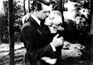 """<p>This Alfred Hitchcock–directed romantic thriller follows a New York advertising exec (Cary Grant) who goes on the run after being mistaken for a government agent by a group of foreign spies. Fun fact: The movie was the inspiration behind the name of the popular Texas festival <em>South by Southwest</em>.</p> <p><a href=""""https://www.amazon.com/North-Northwest-Cary-Grant/dp/B002W7H3EA"""" rel=""""nofollow noopener"""" target=""""_blank"""" data-ylk=""""slk:Available to rent on Amazon Prime Video"""" class=""""link rapid-noclick-resp""""><em>Available to rent on Amazon Prime Video</em></a></p>"""