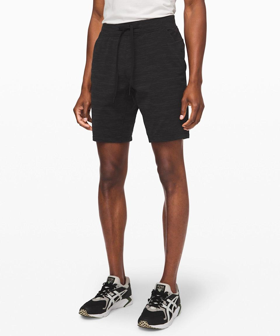 "<p><strong>Lululemon</strong></p><p>lululemon.com</p><p><a href=""https://go.redirectingat.com?id=74968X1596630&url=https%3A%2F%2Fshop.lululemon.com%2Fp%2Fmen-shorts%2FCity-Sweat-Short-Jacquard-MD%2F_%2Fprod10000115&sref=https%3A%2F%2Fwww.menshealth.com%2Fstyle%2Fg33393057%2Flululemon-made-too-much-sale-summer-shorts-mens-deals%2F"" rel=""nofollow noopener"" target=""_blank"" data-ylk=""slk:BUY IT HERE"" class=""link rapid-noclick-resp"">BUY IT HERE</a></p><p><del>$68.00</del><strong><br>$39.00</strong></p><p>Thanks to its super-soft fabric, these shorts are the summer equivalent to your favorite sweatpants. </p>"