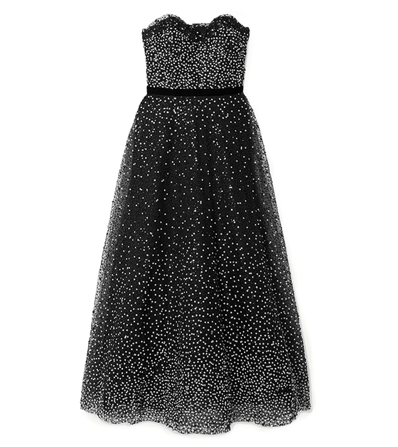 The off-shoulder gown is reduced to £834 on The Outnet. (The Outnet)