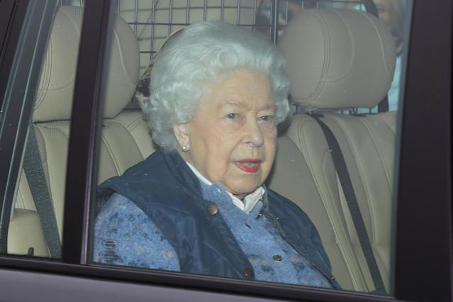 The Queen left London a week early. (PA Images)