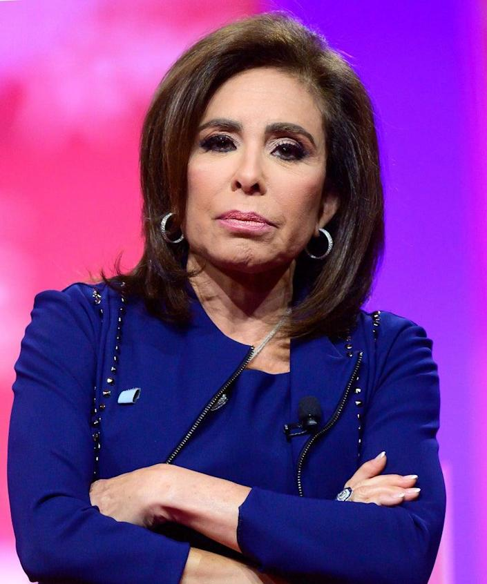 Mandatory Credit: Photo by Shutterstock (10129120c) Judge Jeanine Pirro of Fox News speech at the Conservative Political Action Conference (CPAC) at the Gaylord National Resort and Convention Center in National Harbor, Maryland. CPAC Conference, National Harbor, USA – 02 Mar 2019