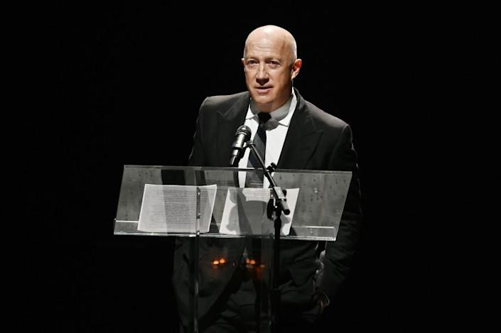 Bryan Lourd speaks onstage during the Lincoln Center American Songbook Gala
