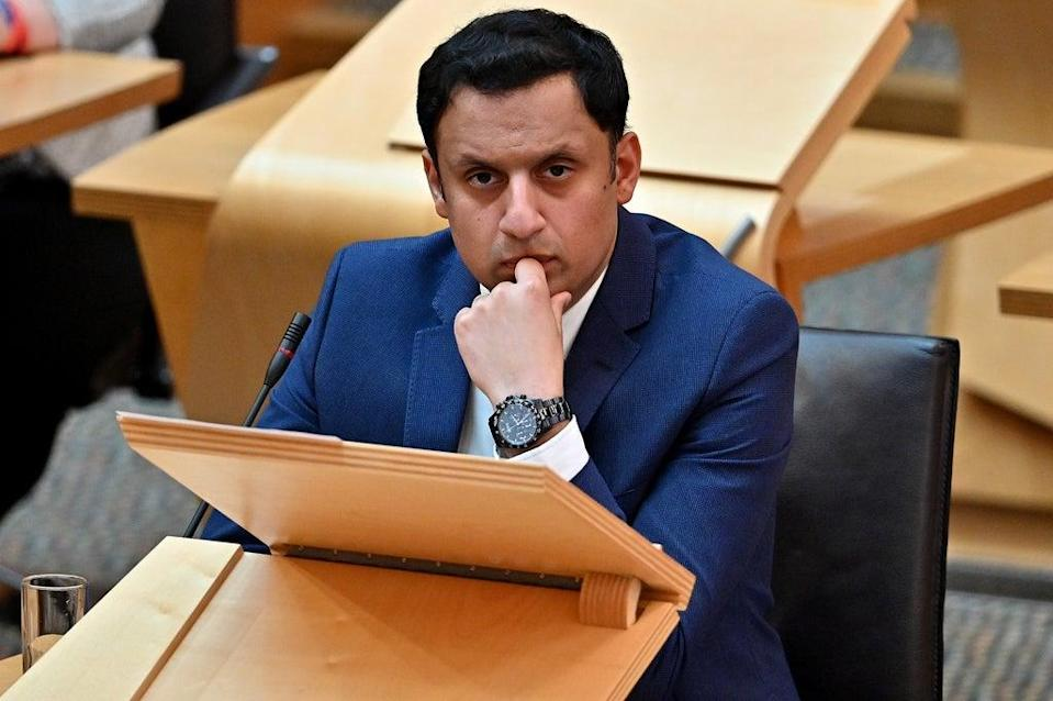 Anas Sarwar told the Greens to 're-discover their principles' (Jeff J Mitchell/PA) (PA Wire)