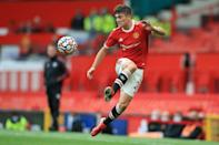 Daniel James has moved from Manchester United to Leeds (AFP/Lindsey Parnaby)