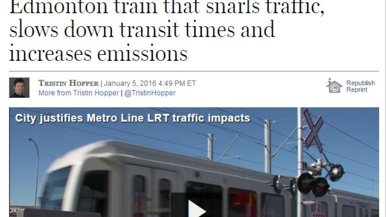 Is Edmonton's Metro LRT really a 'Kafkaesque nightmare?'