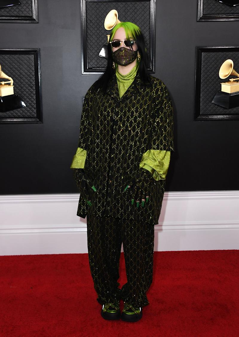 The label who represents Billie Eilish is also joining in with the blackout (AFP via Getty Images)