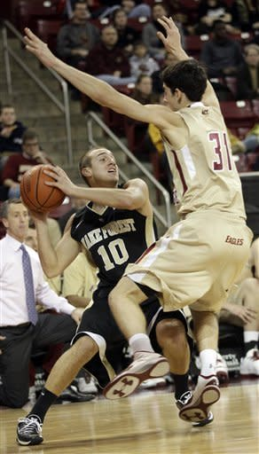 McKie carries Wake Forest to 71-56 win over BC
