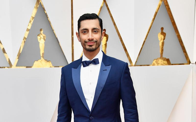 Riz Ahmed, pictured at the Oscars, said black and Asian people need to be part of our national story - 2017 Getty Images