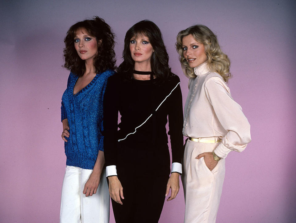 CHARLIE'S ANGELS 1980: Tanya Roberts (Julie, links), Jaclyn Smith (Kelly), Cheryl Ladd (Kris)  (Photo by Walt Disney Television via Getty Images Photo Archives/Walt Disney Television via Getty Images)